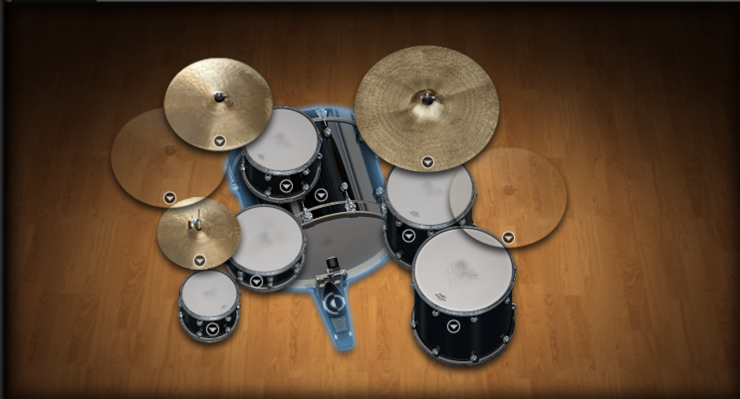 Anthropology superior drummer jazz kit