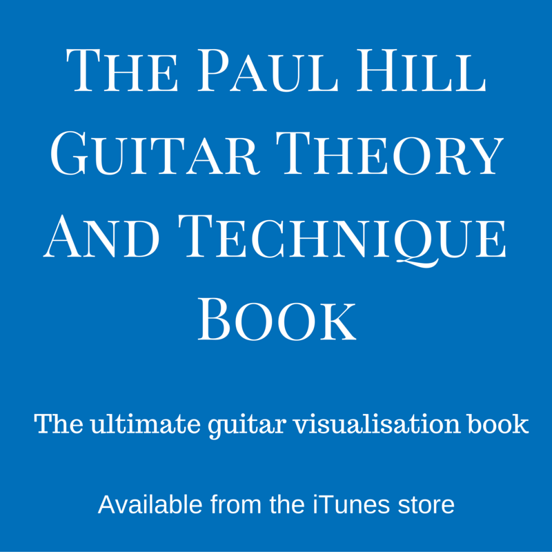 The Paul Hill Guitar Theory and Technique Book.